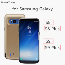 5000 6500mAh Battery Case Power Case สำหรับ Samsung Galaxy S8 S8 PLUS S9 S9 PLUS แบตเตอรี่ชาร์จกรณี power Bank
