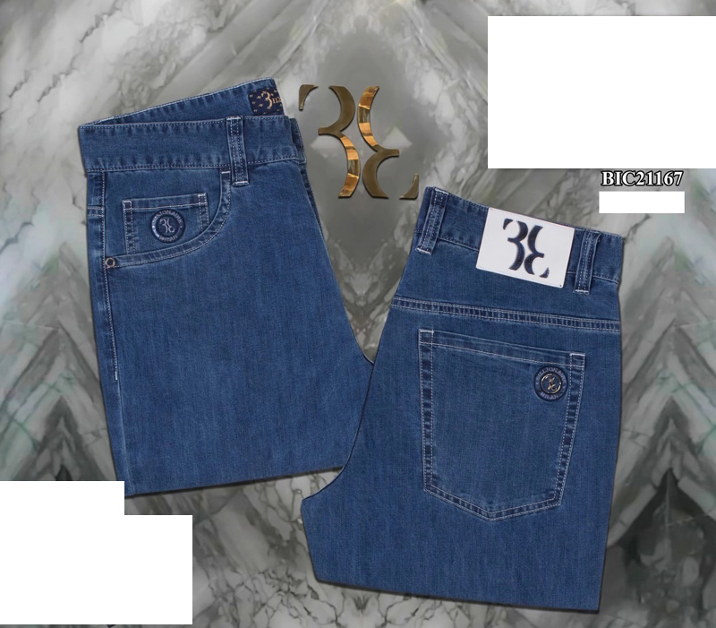 Miliarder Jeans cienkie męskie 2021 wiosna lato w nowym stylu bawełna Casual elastyczność wysokiej jakościowy duży rozmiar 31-40 jeans