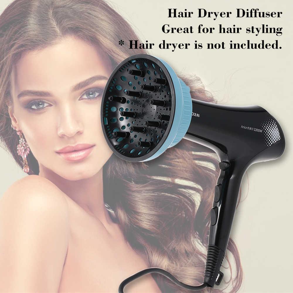 Einstellbare Haar Trockner Diffusor für Lockiges oder Welliges Haar Styling Befestigung Haar Trockner Zubehör für Die Meisten фен для волос фен