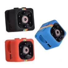 Sq11 мини камера 1080p сенсор ночное видение видеокамера Спорт