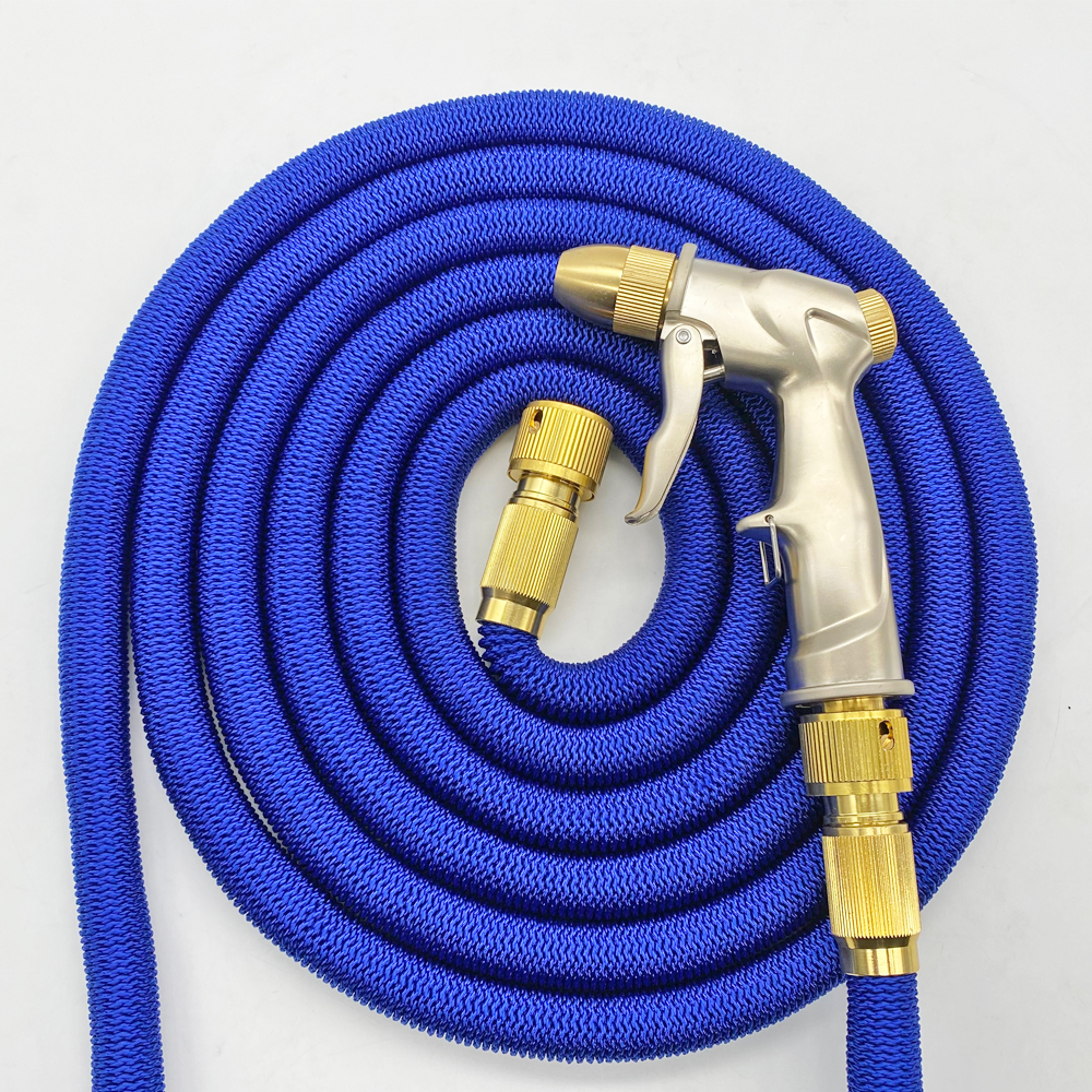 Garden Hose Pipe Spray Gun Magic Hose Pipe Expandable Water Hose 25FT-100FT With Water Gun Pressure Washer Car Wahser