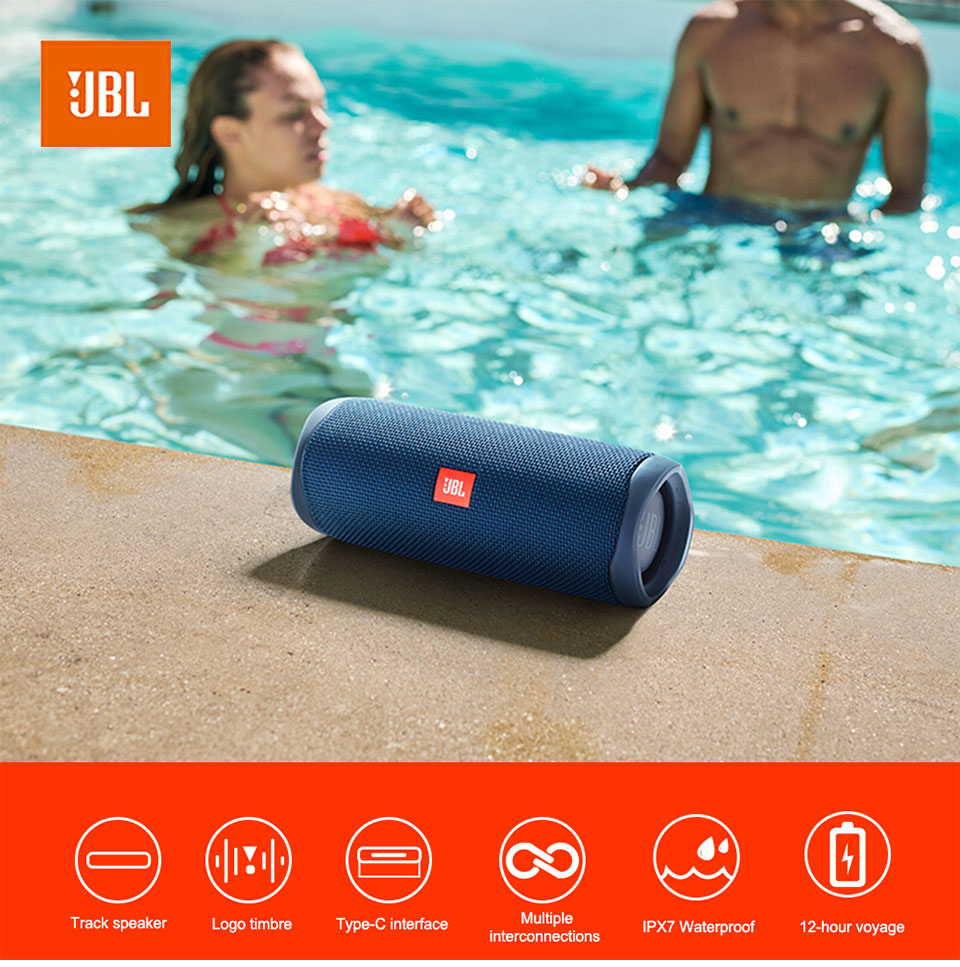 JBL FLIP 5 Portable Waterproof Speaker 4