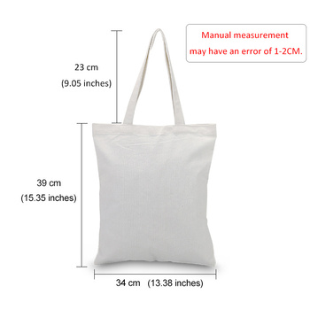 Little Prince Series Printing Canvas Tote Bag Eco Bag Reusable Shopping Bag Recycled Fashion Handbag Daily Use 6
