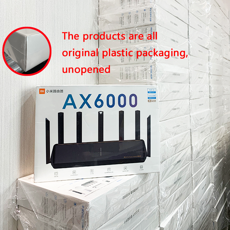 2021 New Xiaomi Router AX6000 AIoT Router 6000Mbs WiFi6 VPN 512MB Qualcomm CPU Mesh Repeater External Signal Network Amplifier M 2