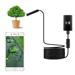 F99 WIFI kamera endoskopowa 8mm obiektyw HD720P 5m miękki sztywny kabel bezprzewodowy wodoodporny boroskop inspekcyjny do smartfonów dfdf