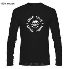 Coffee Chugs And Barbell Shrugs T Shirt O Neck Cotton Tees Tops Funny Tees Cotton Tops T Shirt Funny Tees Cotton Tops T Shirt