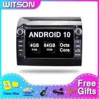 ¡DE Stock! Android WITSON 10 2din AUTO RADIO para la FIAT DUCATO/Citroën JUMPER/BOXER 2GB RAM + 16GB 4 GB Octa Core + DVR/WIFI + DSP + DAB