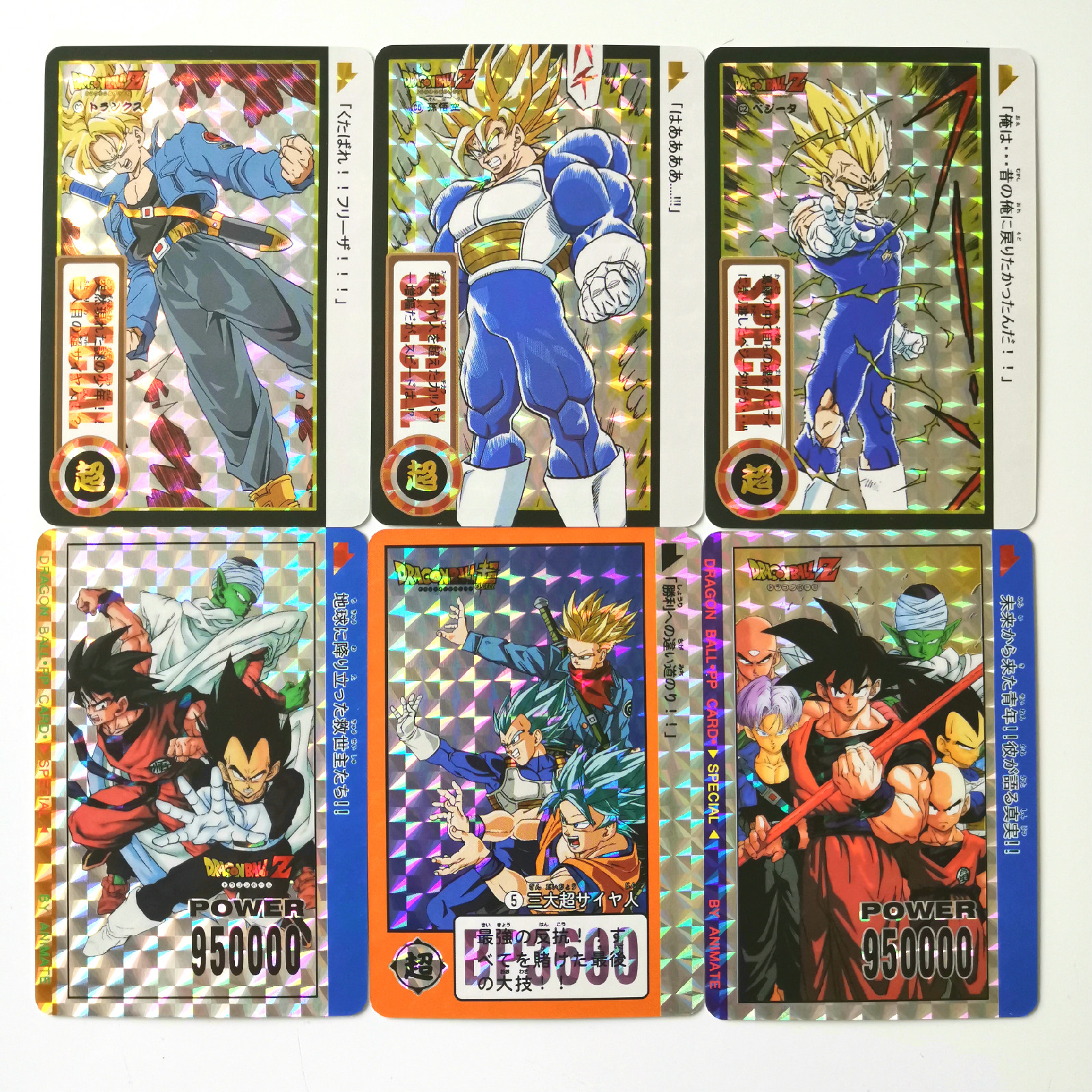 45pcs Super Dragon Ball Z Tenth Bomb Heroes Battle Card Ultra Instinct Goku Vegeta Super Game Collection Cards
