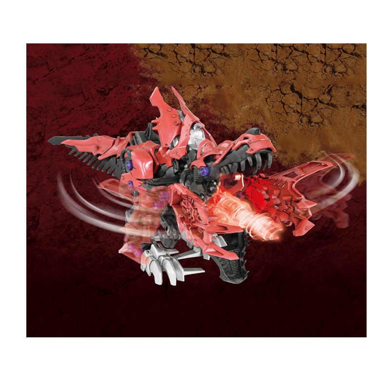 TOMY ZOIDSTAKARA ZW12 Figura de Ação Mecânica Dragão Animal Crianças Presentes Brinquedos Transformação Robô Ranger Megazord