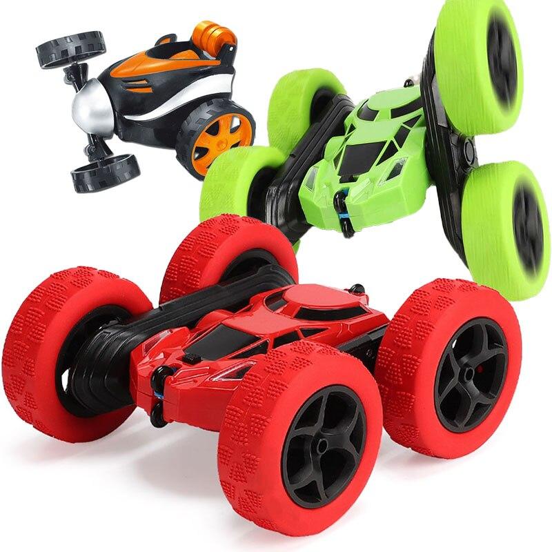 Odilo RC voiture 2.4G 4CH cascadeur dérive déformation Buggy voiture roche chenille rouleau voiture 360 degrés retournement enfants Robot RC voitures jouets