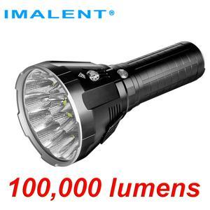 IMALENT MS18 светодиодный светильник-вспышка + набор головок R90TS CREE XHP35 HI / CREE XHP70.2, 100000 лм, светильник-вспышка с Умной зарядкой