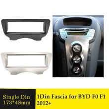 Eine Din Auto Fascia Stereo Radio DVD Player Panel Umrüstung Rahmen Audio Adapter Facia Lünette Installation Kit Für BYD F0 f1 2012 +
