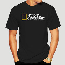 National Geographic Logo T-shirt Womens Style-1335D