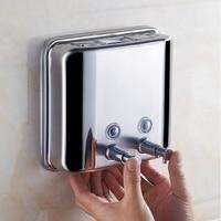 1500Ml Liquid Soap Dispenser 304 Stainless Steel Wall Mounted Bathroom Liquid Hand Sanitizer Dispenser Kitchen CNIM Hot