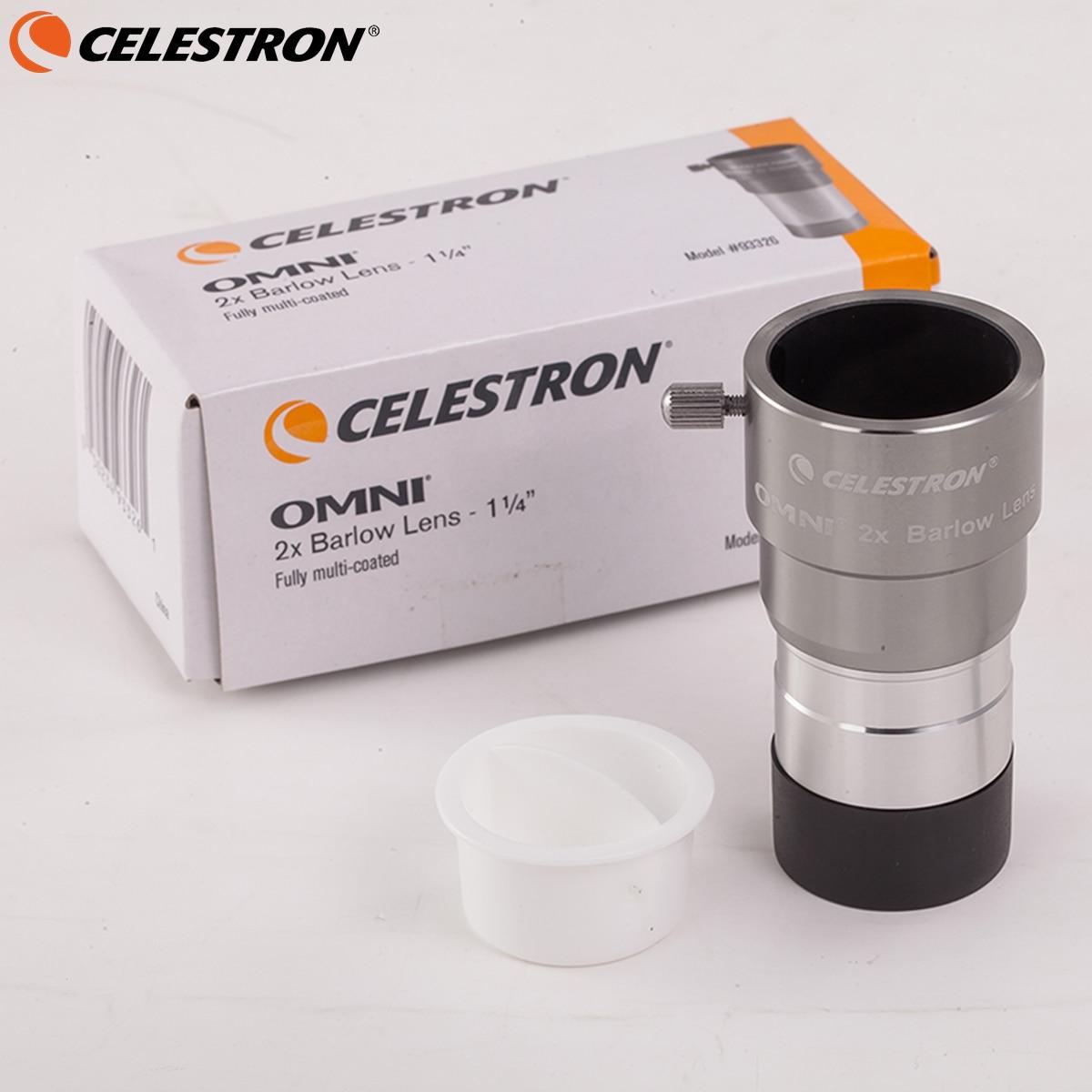 Окуляр Celestron Omni 2X, 1,25 дюйма, окуляр для астрономического телестрона, не Монокуляр 31,7 мм