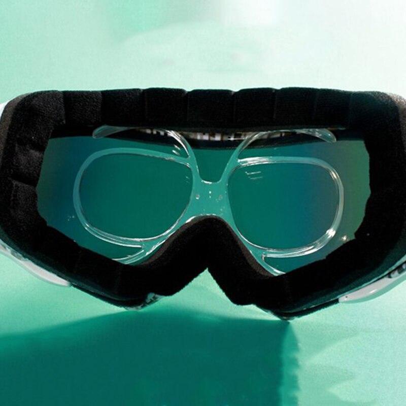 10 pçs óculos de esqui miopia quadro
