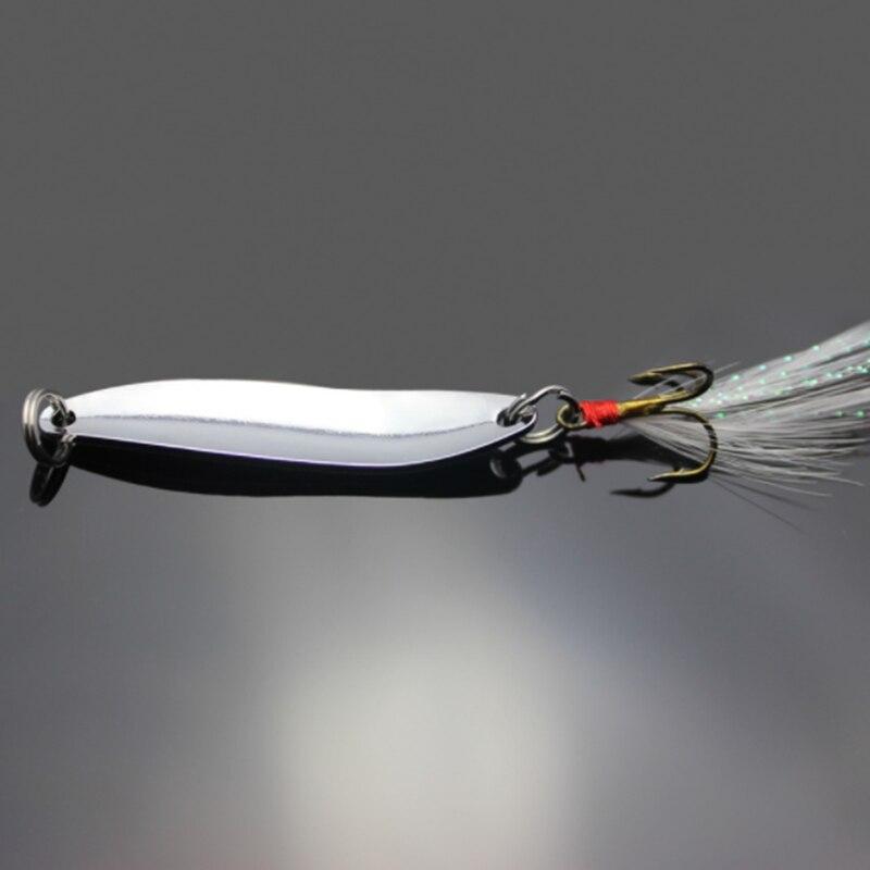 1Pcs 5G/7G/10G/13G Metal Vissen Lokken Lepel Pailletten Spinner Met veer Harde Aas Voor Zee Lake Lure Tool Wobblers