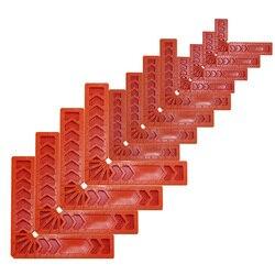 Kwadraty pozycjonujące 90 stopni  zacisk narożny kątowy  narzędzia do obróbki drewna do ramki do zdjęć  pudełek  szafek montażowych lub szuflad  w Szczelinomierze od Narzędzia na