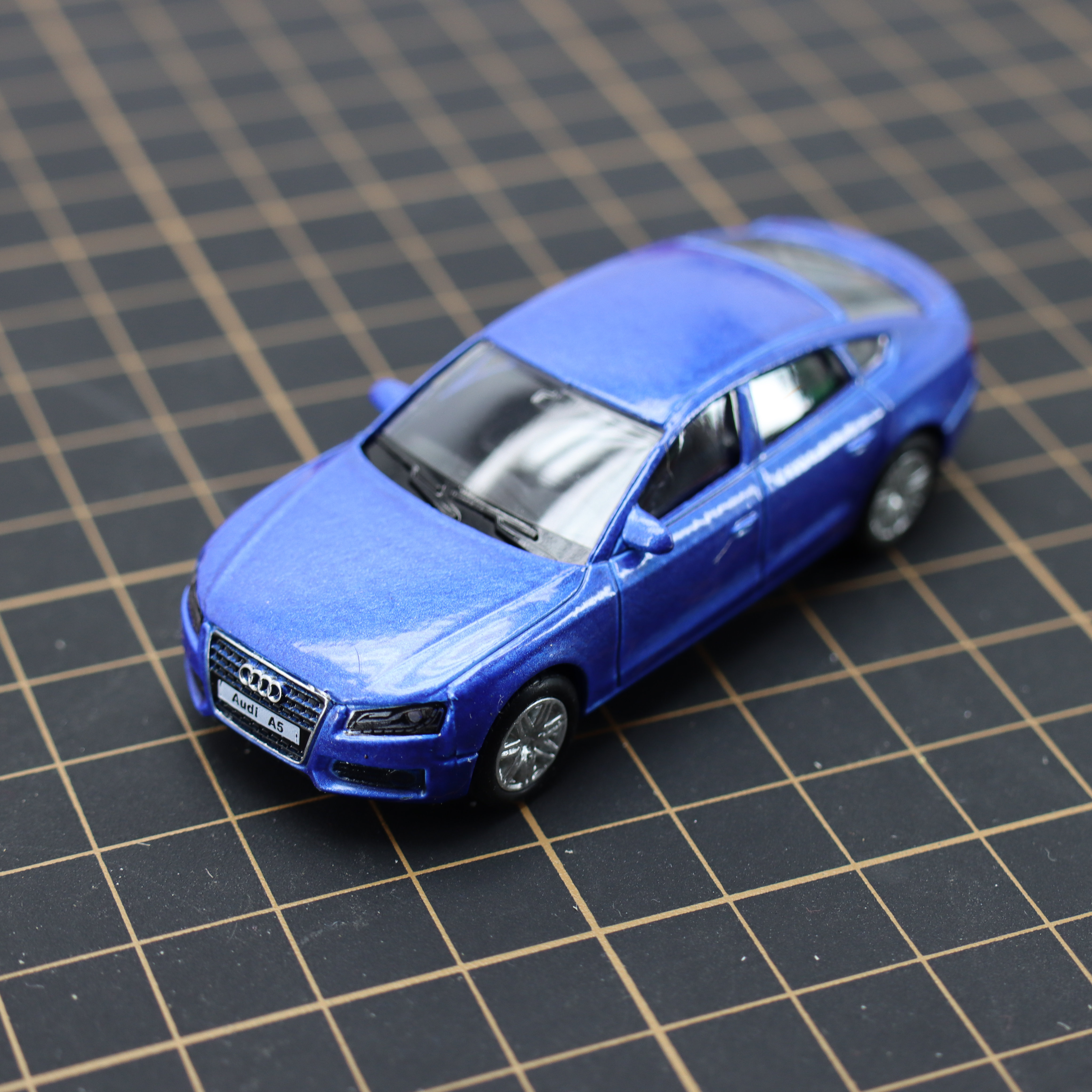 Diecast Alloy Toy Car A5 1/64 Pull-Back-Movable