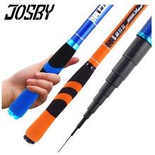 JOSBY 2020 New Stream Fishing Rods Pesca 2.7m-7.2m Carbon Fiber Telescopic Fishing Rod