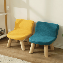 Household Children's Chair Solid Wood Stool Kindergarten Tables and Chairs Children's Sofa Stool Desks and Chairs