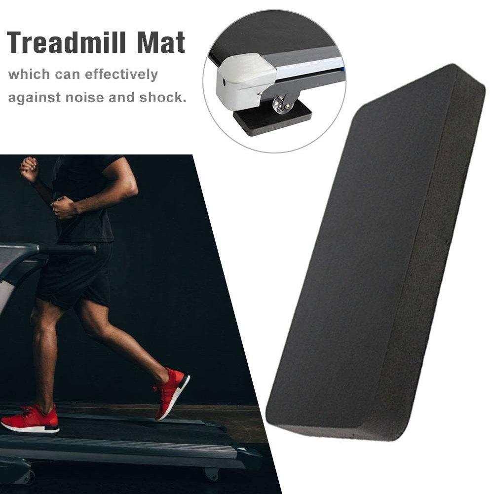 6pcs Shock Absorbing Professional Gym Sound Insulation Exercise Waterproof Fitness Equipment Treadmill Mat Non-Slip Workout Home image