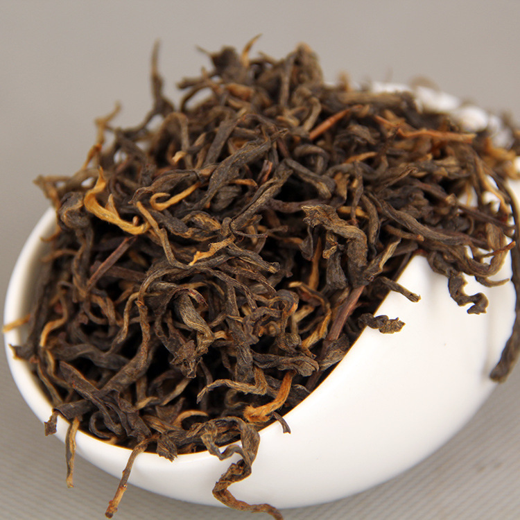 250g Chinese Yunnan Balck Tea Dian Hong Black Tea China DianHong Tea Dian Hong Red Tea For Health Beauty Slimming Green Food