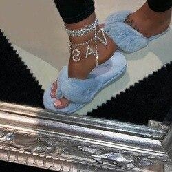 Mulheres carta desagradável cristal tornozelo pulseira boêmio prata cor ouro pé praia festa clube anklet moda descalço corrente jóias