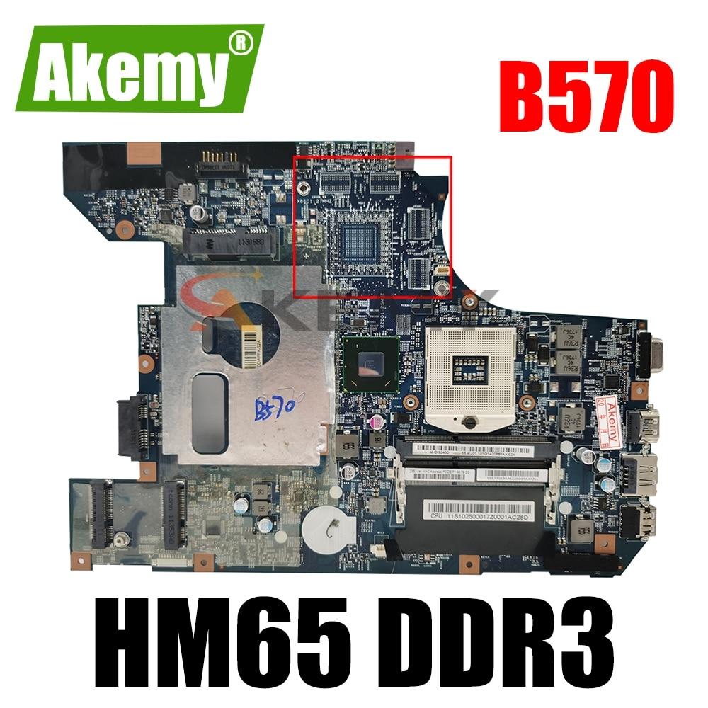 Материнская плата для ноутбука LENOVO Ideapad B570 V570, материнская плата 10290-2 48,4pa01. 021 11S11013536ZZ HM65 DDR3