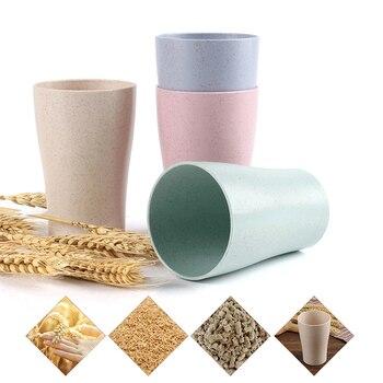 Wheat Straw Tumbler Cups