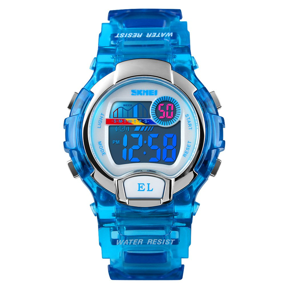 Watches Kids Gift For Age 4-12 Years Old Waterproof Swimming Frozen Sports Watch Boys Girls Led Digital Watches For Kids#2