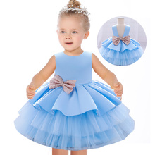 Inverno natal bebê meninas vestido de renda recém nascido princesa crianças roupas para 1st ano aniversário halloween traje infantil festa vestido