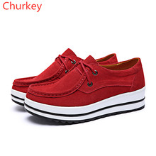 Women Shoes Casual Outdoor Walking Leisure Vulcanized Leather Increased Fashion Sports
