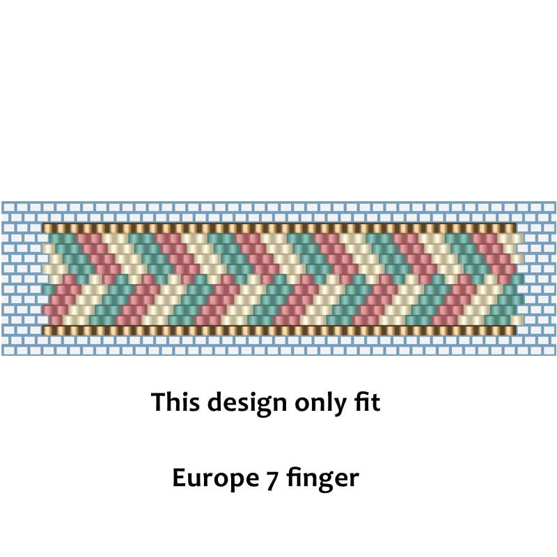 FAIRYWOO Handmade Rings For Women Miyuki Beaded Ring Kit Pink Jewelry Making Kit For Women Accessories New Fashion Wholesale