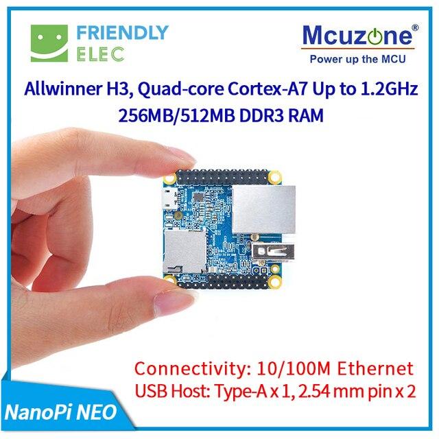 NanoPi NEO 256M/512M Allwinner H3 Quad-core Cortex-A7 (fonctionne u-boot,Ubuntu-Core)