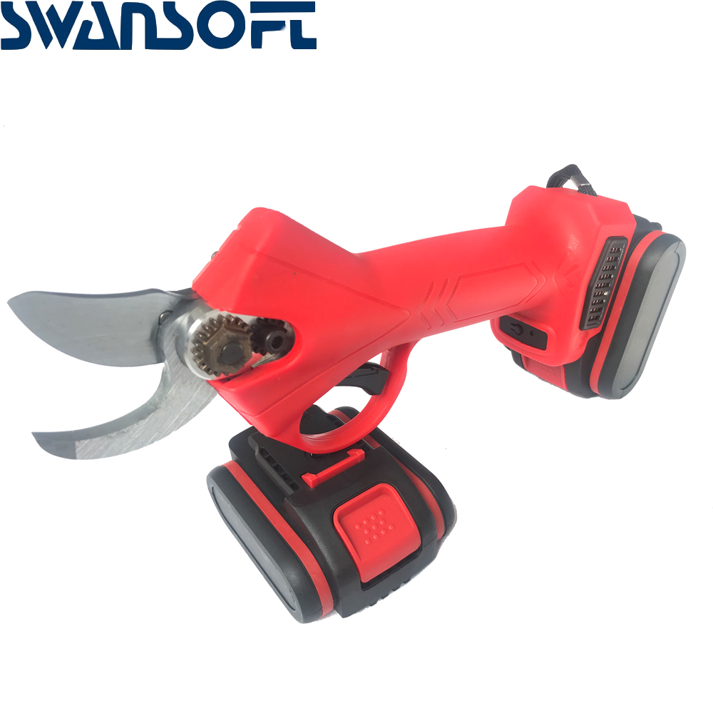 Rechargeable Electric Battery Cordless Secateur Branch Cutter Pruning Shears Fruit Tree Branch Scissors Pruning Power Tools