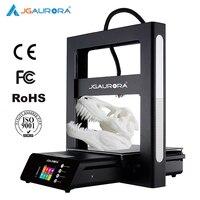 JGAURORA 3D drukarki A5 aktualizacja A5S w całości z metalu Diy zestaw ekstremalne wysoka dokładność duży rozmiar wydruku 305x305x320mm Impresora 3d w Drukarki 3D od Komputer i biuro na