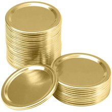 30 упаковок крышек для консервирования в ширину обычные крышки