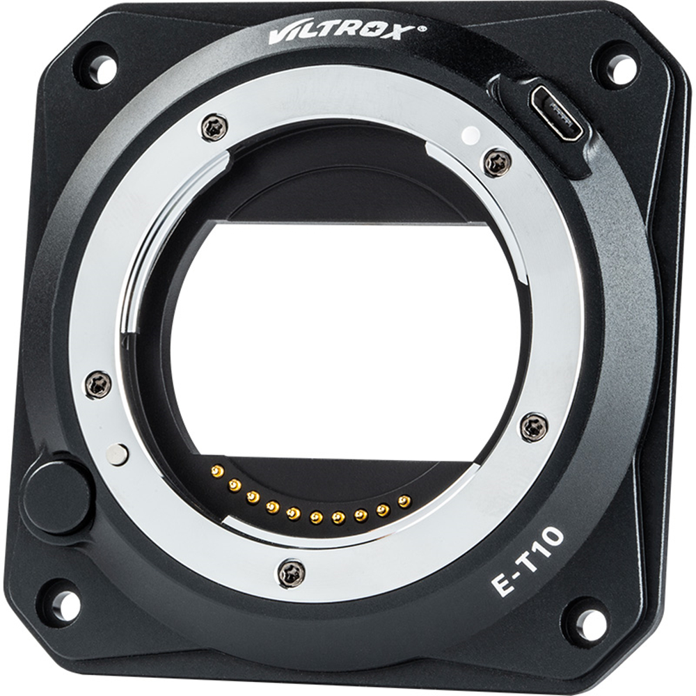 Viltrox E-T10 Z-CAM Lens Adapter EF/PL Full Frame 6K for Sony E Mount Lens to ZCAM Cinema Camera E2-M4 E2-S6 E2-F6 E2-F8 Series