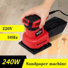 Papier ścierny maszyna szlifierka meble z drewna farba płaska szlifierka szlifierka do drewna szpachlówka ścienna polerowanie elektryczne tanie tanio