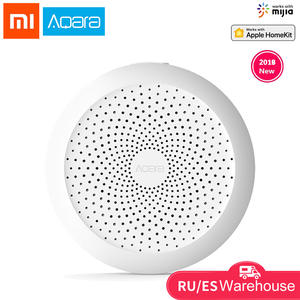 Aqara Hub Xiaomi Gateway with RGB Led night light Smart work with For Apple Homekit and aqara smart App for xiaomi smart home