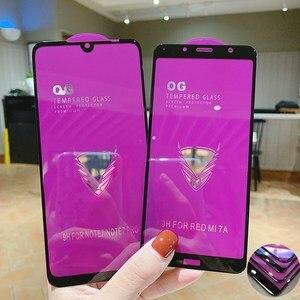 Защитное стекло с полным покрытием Big Curve, закаленное стекло для Xiaomi Redmi Note 7 6 5 8 Pro 5A, Redmi 6A 7A CC9e