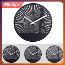 Motion Clock dynamic dynamic grating  illusion  moire fringe hanging clock Decoration gift