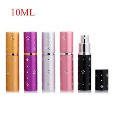цена на 1Pieces 10ml Mini Refillable Portable Perfume Bottle Atomizer Spray &Traveler Aluminum Empty Parfum Bottle Cosmetic Containers