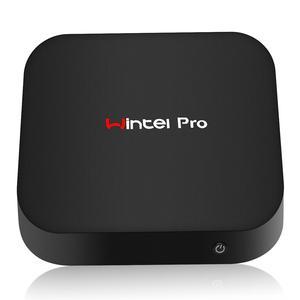 Image 1 - Wintel pro MINI PC intel atom X5 Z8350 1.92Ghz quad core 2 go/32 go 4 go/64 go WIFI BT4.0 RJ45 1000M LAN TV Box WIN10 Wintel W8 Pro
