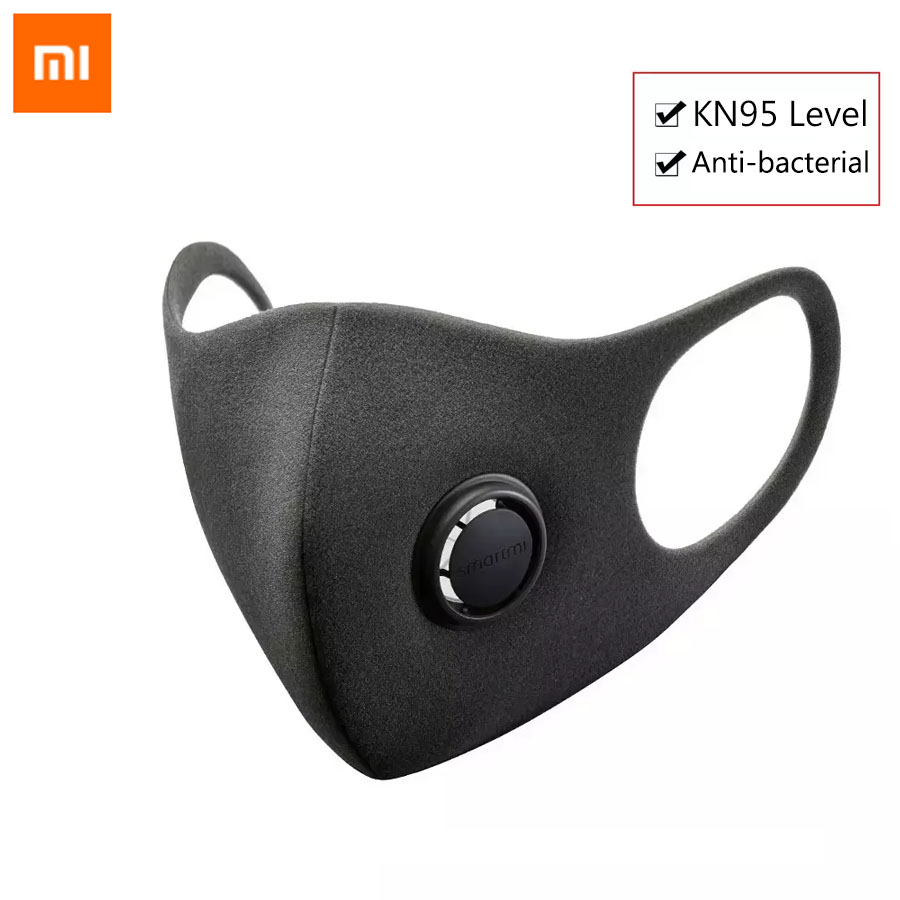 Xiaomi Smartmi Anti-Haze Professional Protective Face Cover Face Mask PM2.5 Haze Mask From Xiaomi Youpin