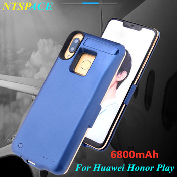 6800mAh Extended Phone Battery Power Case For Huawei Honor Play Backup Battery Power Charger Case Portable