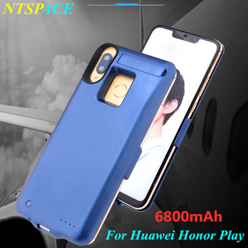External Battery Charger Case For Huawei Honor Play Backup Power Bank Battery Case 6800mAh Portable Power
