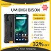 "UMIDIGI BISON IP68/IP69K Waterproof Rugged Phone 48MP Matrix Quad Camera 6.3"" FHD+ Display 6/8GB+128GB NFC Android 10 Smartphone 1"