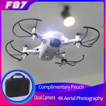 2021 NEW F87 Drone 4K FHD WiFi FPV Profession Dual Camera Hight Hold Foldable RC Quadcopter Aerial Photography Aircraft image